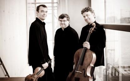 Trio Wanderer, l'ensemble francese in concerto al teatro Carlo Felice