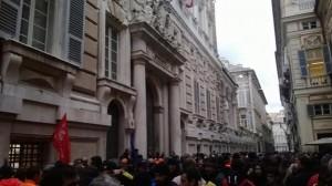 Tursi, protesta dei lavoratori