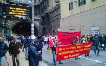 Amt, sciopero concluso. Burlando presenta la nuova agenzia del Tpl