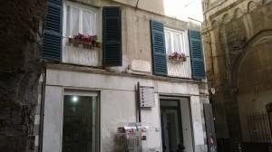Piazzetta dei greci centro storico di Genova