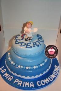 torta cake design prima comunione