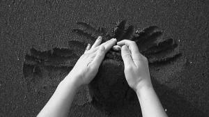 Giulia Vasta - Frame castelli di sabbia 45x70cm
