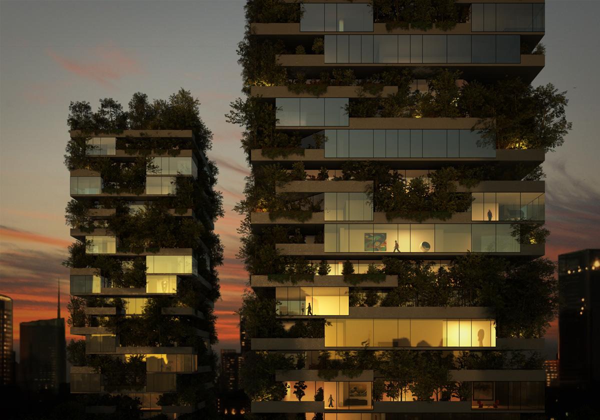 Il Bosco Verticale Il Primo Grattacielo Verde Nella