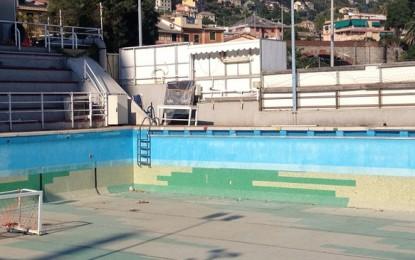 """Nervi, ex piscina """"Mario Massa"""" diventa un campo da beach volley? Forse, ma solo temporaneamente"""