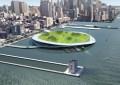 New York, Green Loop: parchi e orti galleggianti per lo smaltimento dei rifiuti