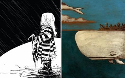 Segni nel fango: un'asta benefica e un libro di illustrazioni per gli alluvionati genovesi