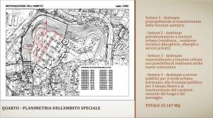 Manicomio Quarto, mappa