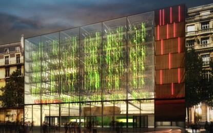 """Urbanana: un """"cubo"""" trasparente, di vetro ed acciaio, per produrre frutta tropicale"""