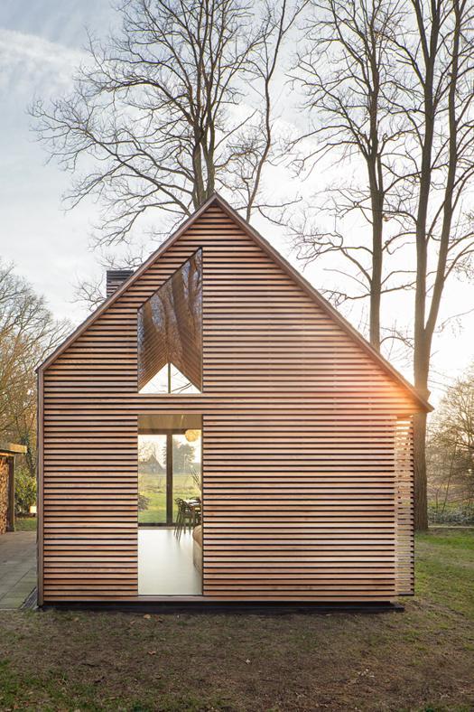 Cottage e casa in legno vivere in campagna for Cottage e casa