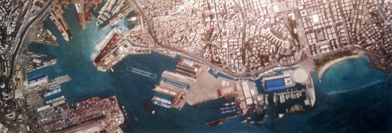 Genova conosci il tuo porto viaggio fra banchine e container for Produttore di blueprint piano piano