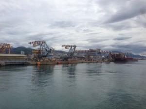 il porto di Sampierdarena