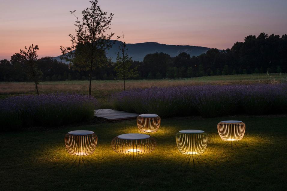 Illuminazione esterna progettare un giardino