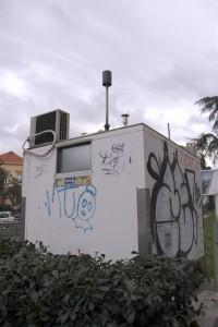 Centralina di monitoraggio della qualità dell'aria a Genova
