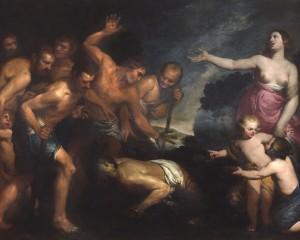 """Pittura,  """"La favola di Latona"""" di Orazio De Ferrari torna a casa. Fino all'8 maggio a Palazzo Bianco"""