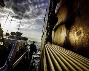 La passione del pilota tra mare e acciaio, al Galata di Genova