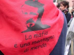 La mafia è una montagna di merda | Foto di Simone D'Ambrosio