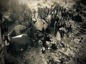migranti-ventimiglia-campo-improvvisato