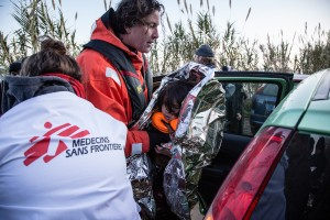 Greenpeace and MSF - Lesvos, Greece