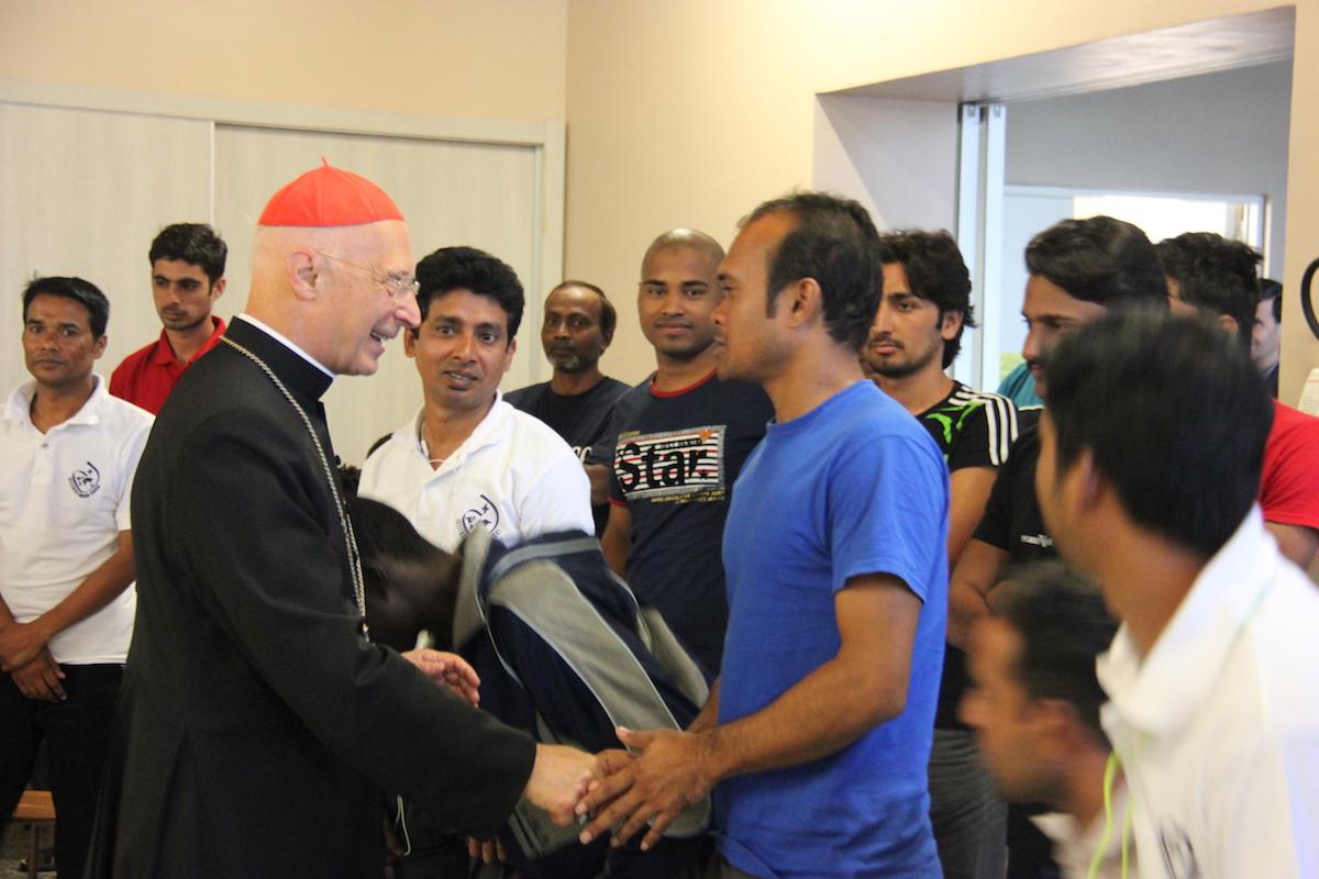 Migranti 6 profughi in arrivo nella chiesa di s maria for Giardinieri genova