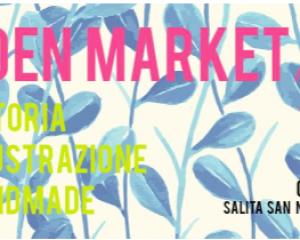Garden Market, una vetrina per l'arte visiva a Castelletto