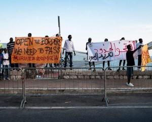 Ventimiglia, al Campo della Croce Rossa mancano letti, cibo e cure mediche