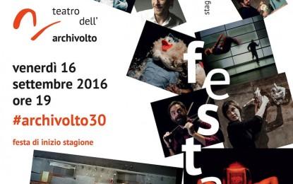 Teatro Archivolto, 30 anni di storia e la nuova stagione