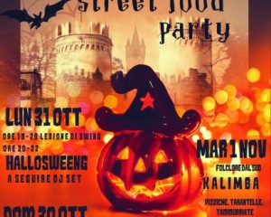 Halloween Street Food Party in Piazza Dante