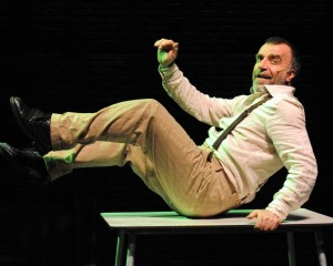 """Ugo Dighero e il suo """"Mistero buffo"""" per omaggiare Dario Fo"""