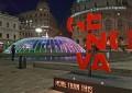 """La fontana di De Ferrari si colora con i Led. Crivello: """"Il regalo di Natale alla città e ai turisti"""""""