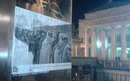 Il Giorno della Memoria e la nostra memoria corta. Decine di foto simbolo dell'emergenza migranti invadono la città