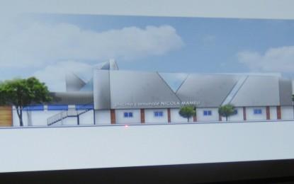 Piscina di Voltri, nel 2019 riapertura impianto. Presentato ufficialmente progetto. Bernini contestato da lavoratori Ireti