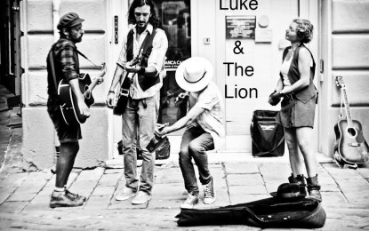 Luke and the Lion live al Crazy Bull