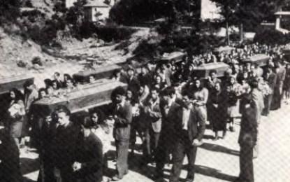 Commemorazione del 73° anniversario dell'Eccidio di Masone