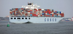 cosco nave container