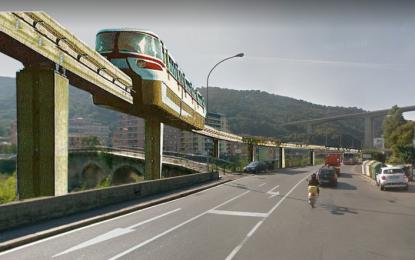 """Dal tram alla monorotaia, il voltafaccia del Comune che non piace alla Val Bisagno. Un progetto """"pericoloso"""""""